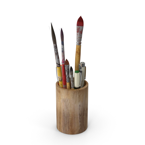 Artist Tool Holder PNG & PSD Images