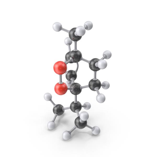 Ascaridole Molecule PNG & PSD Images