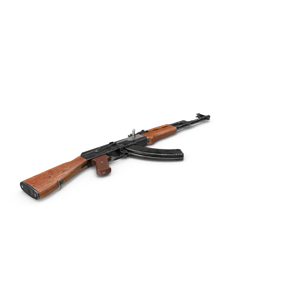 Assault Rifle AK-47 PNG & PSD Images