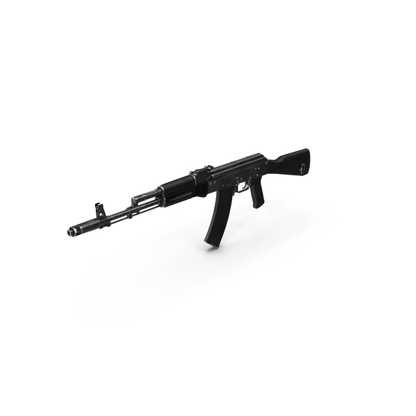 Assault Rifle AK-74 PNG & PSD Images