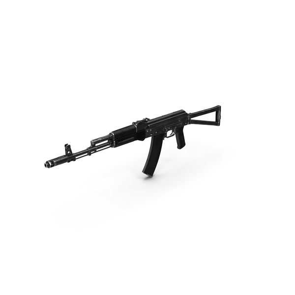 Assault Rifle AKS-74 PNG & PSD Images