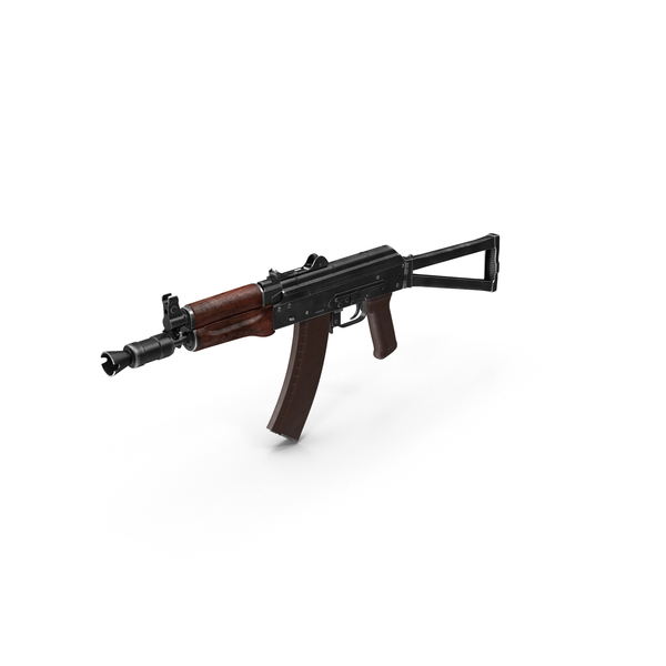 Assault Rifle AKS-74U PNG & PSD Images