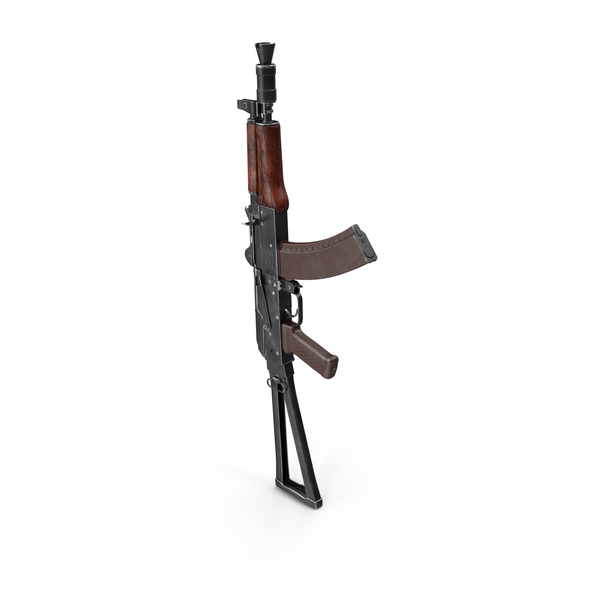 Assault Rifle AKS-74U Object