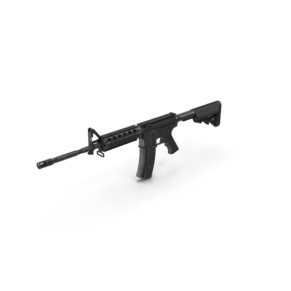 Assault Rifle M4 PNG & PSD Images