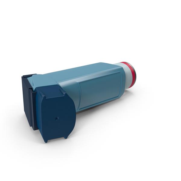 Asthma Inhaler Object