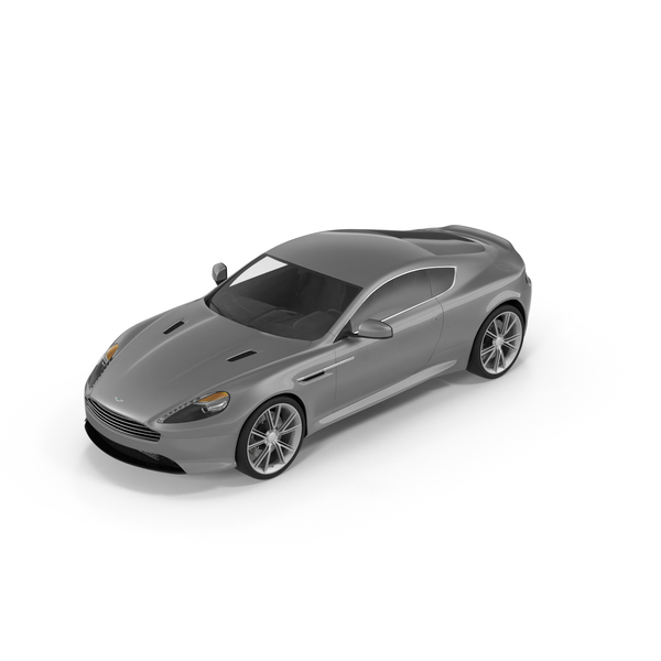 Sports Car: Aston Martin DB9 2014 PNG & PSD Images