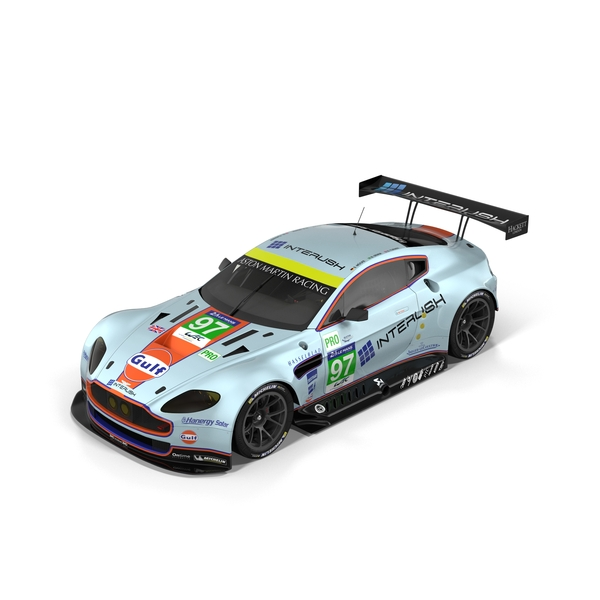 Aston Martin Vantage GTE Pro PNG & PSD Images