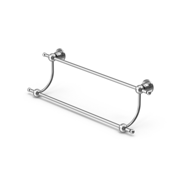 Astor Place Collection Double Towel Bar PNG & PSD Images