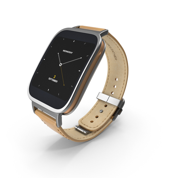 Smart Watch: ASUS ZenWatch PNG & PSD Images