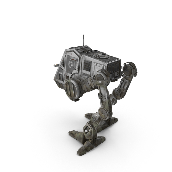 AT-PT Walker Dirty PNG & PSD Images