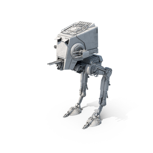 Mechanical: AT-ST Scout Walker PNG & PSD Images
