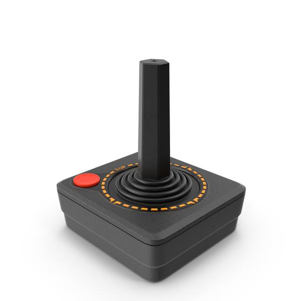 Game Console: Atari 2600 Controller PNG & PSD Images