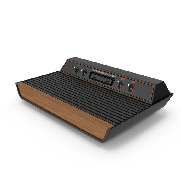 Game Console: Atari 2600 PNG & PSD Images