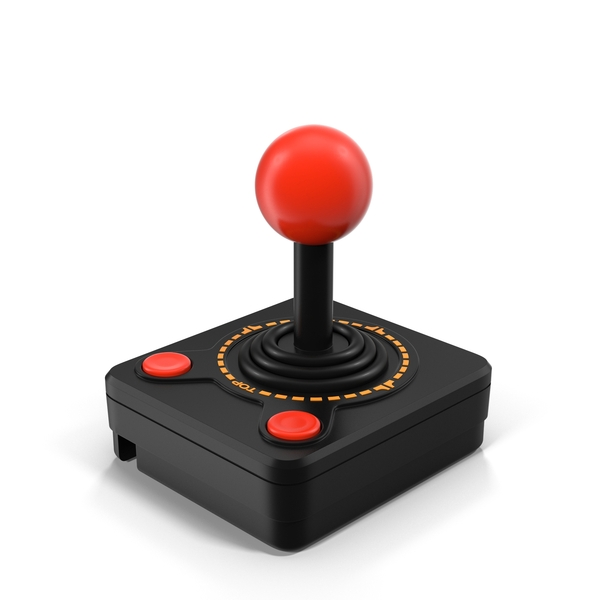 Video Game: Atari 2600 Joystick Controller Object