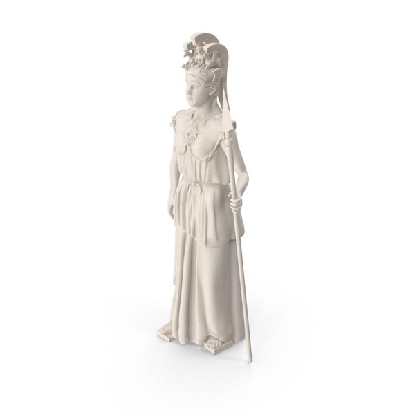 Athena Promachos Statue PNG & PSD Images