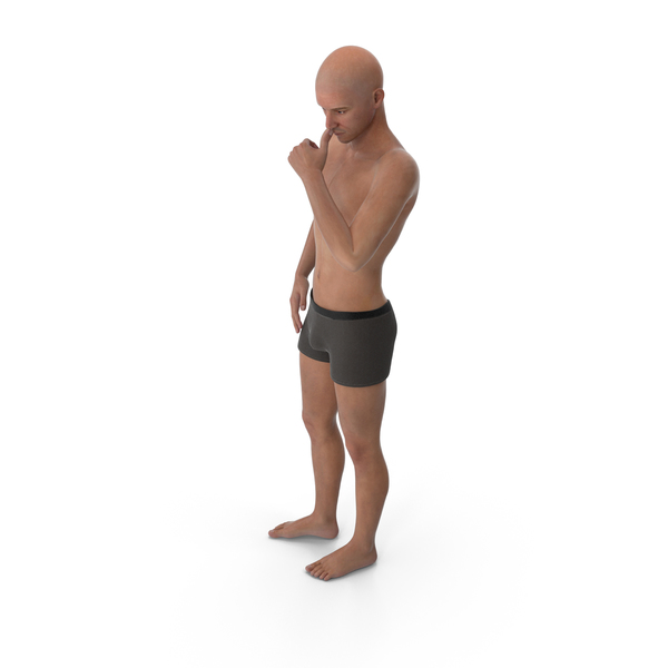 Athletic Man Posing PNG & PSD Images