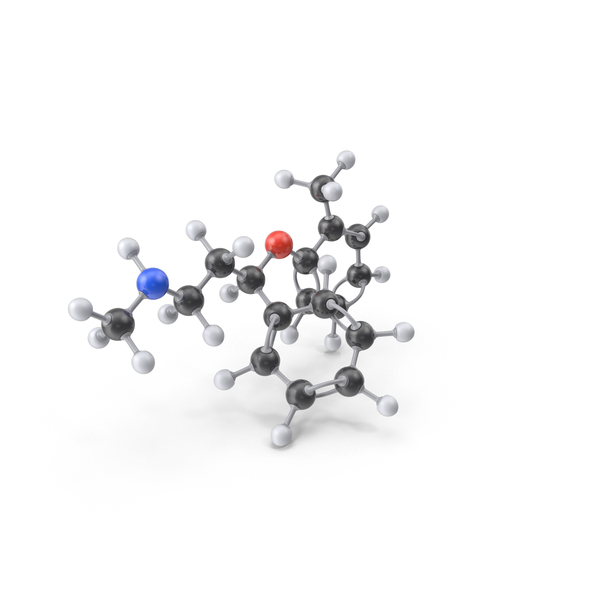 Atomoxetine Molecule PNG & PSD Images