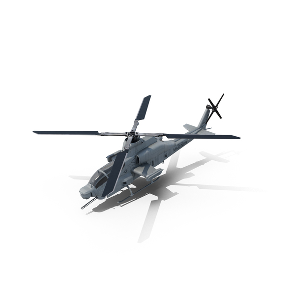 Attack Helicopter Bell AH 1Z Viper PNG & PSD Images