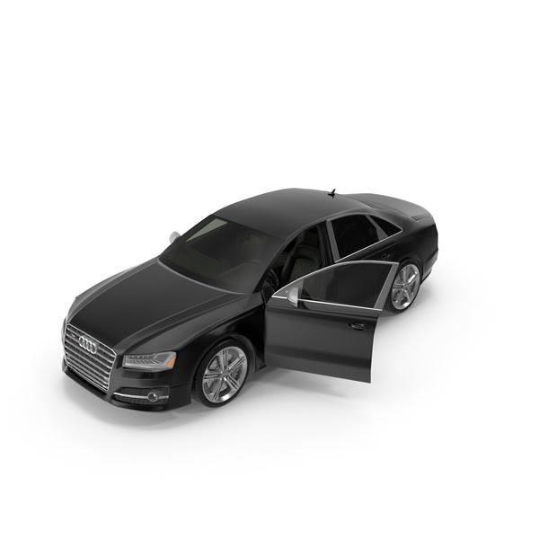 Audi S8 Opened Door PNG & PSD Images