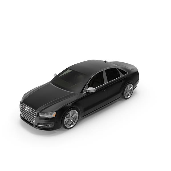 Sedan: Audi S8 PNG & PSD Images