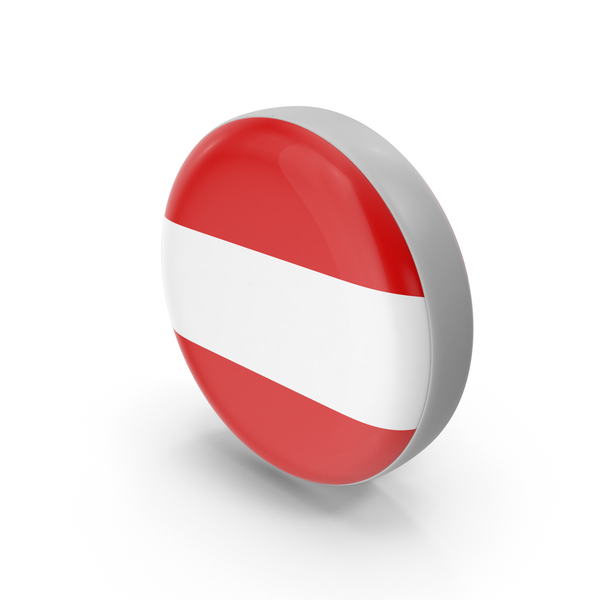 Austria Circle Icon Flag PNG & PSD Images