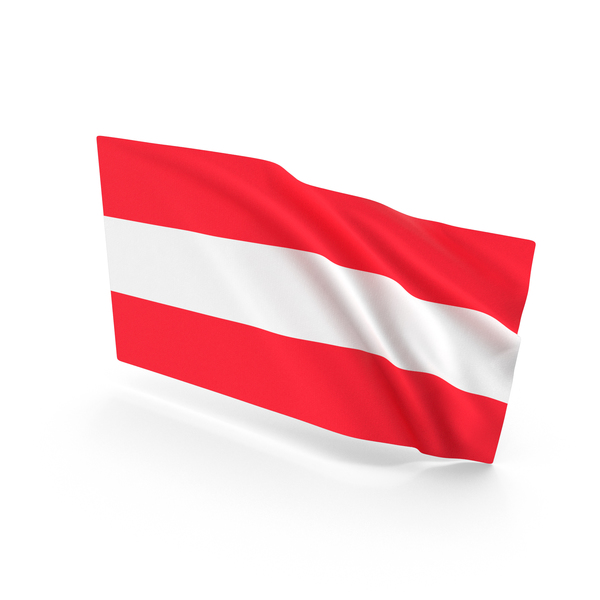 Austria Waving Flag PNG & PSD Images