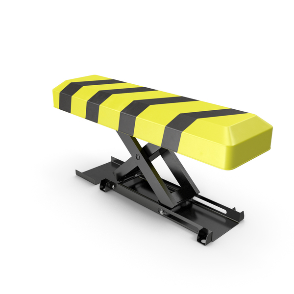 Automatic Parking Barrier with Remote Control PNG & PSD Images