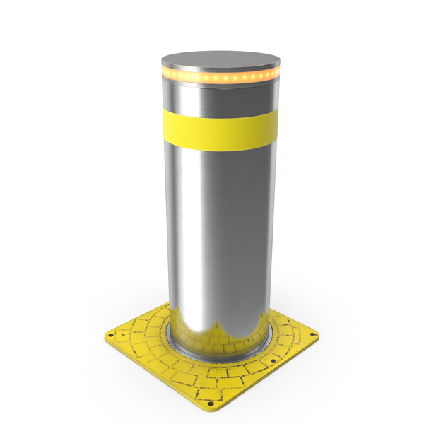 Automatic Retractable Bollard PNG & PSD Images