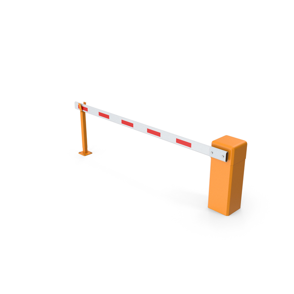 Automatic Road Barrier PNG & PSD Images
