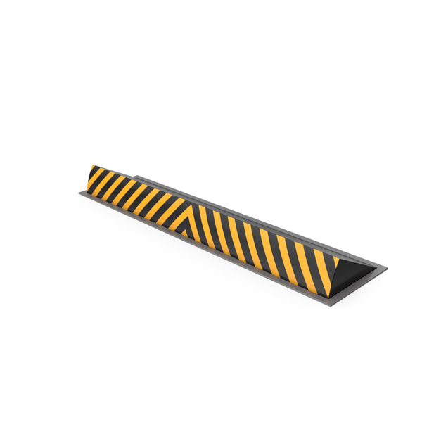 Street Elements: Automatic Road Blocker PNG & PSD Images