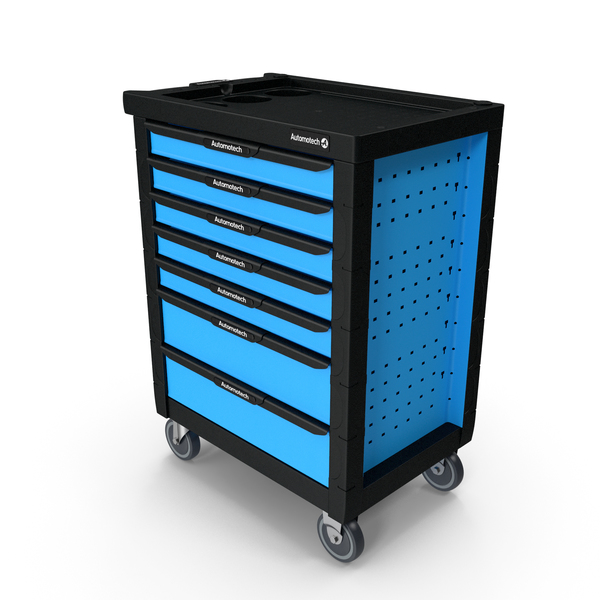 Automotech AS-220A2 Roller Workshop Cabinet PNG & PSD Images