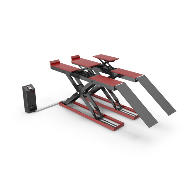 Automotive Scissor Lift PNG & PSD Images