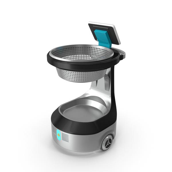 Autonomous Smart Shopping Cart PNG & PSD Images