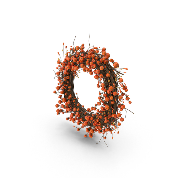 Autumn Wreath PNG & PSD Images