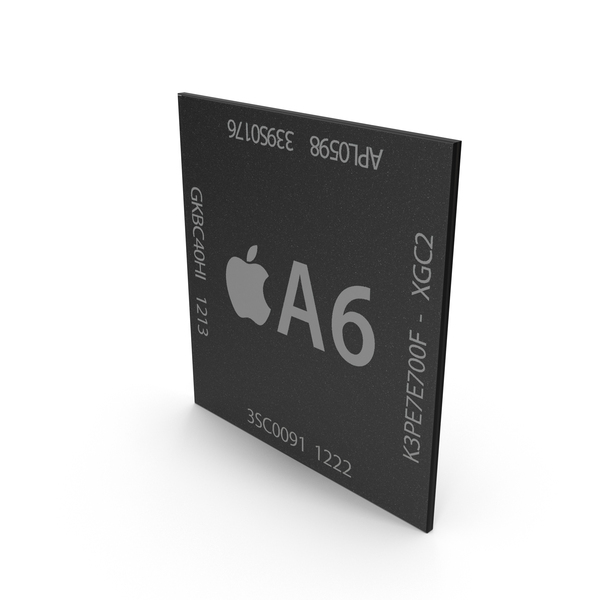 Computer Chip: AX Series A6 PNG & PSD Images