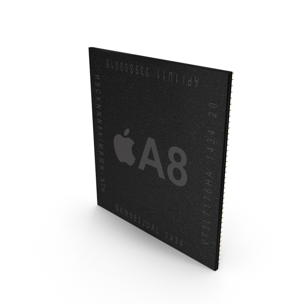 Computer Chip: AX Series A8 PNG & PSD Images