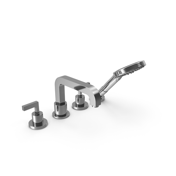 Axor Citterio Bathroom Shower Tap Set PNG & PSD Images