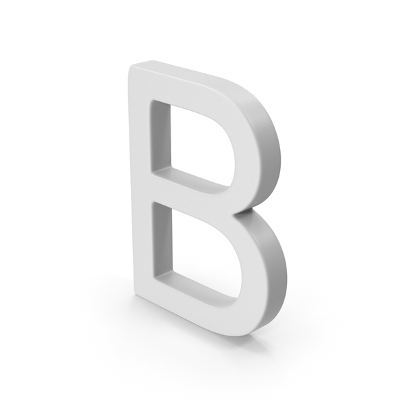 B Letter PNG & PSD Images