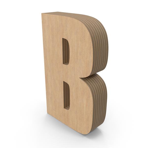 Language: B Wood PNG & PSD Images