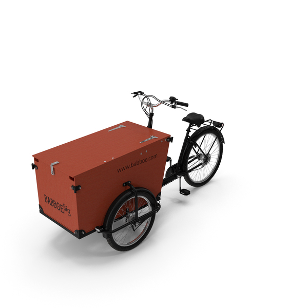 Bicycle: Babboe Transporter Cargo Bike PNG & PSD Images