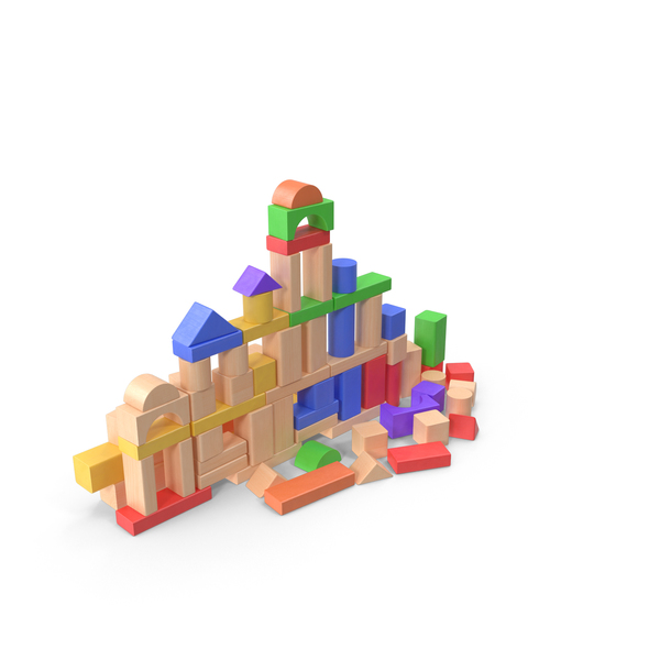 Block: Baby Building Blocks Set PNG & PSD Images