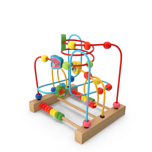 Toys: Baby Learning Early Education Wooden Maze PNG & PSD Images
