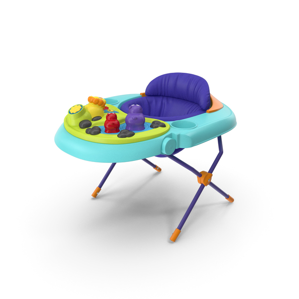 Baby Seat with Toys PNG & PSD Images