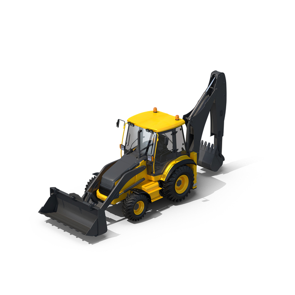 Backhoe Loader Object