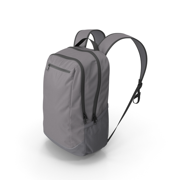 Backpack Gray PNG & PSD Images