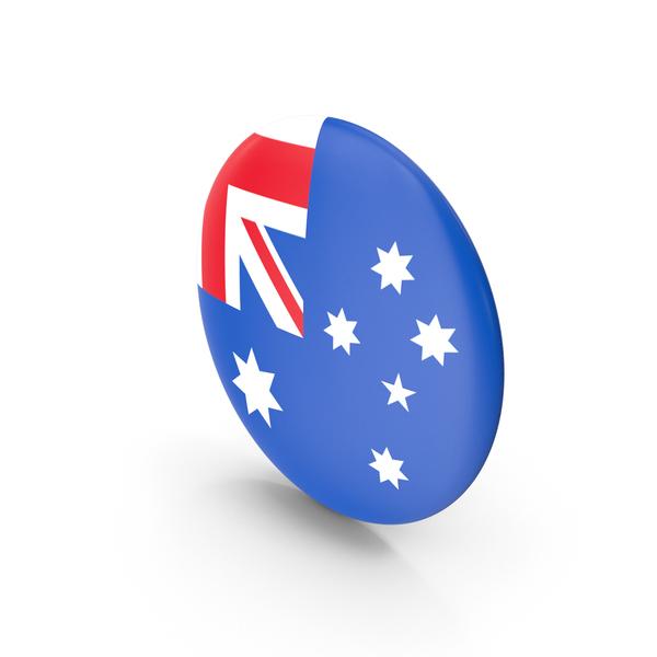 Flag: Badge Australia PNG & PSD Images