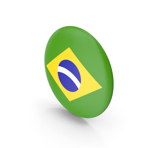 Brazilian Flag: Badge Brazil PNG & PSD Images