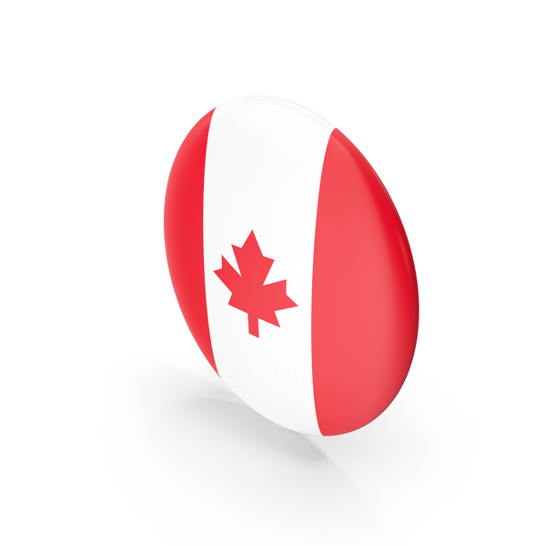 Canadian Flag: Badge Canada PNG & PSD Images