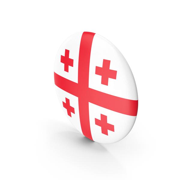 Flag: Badge Georgia PNG & PSD Images