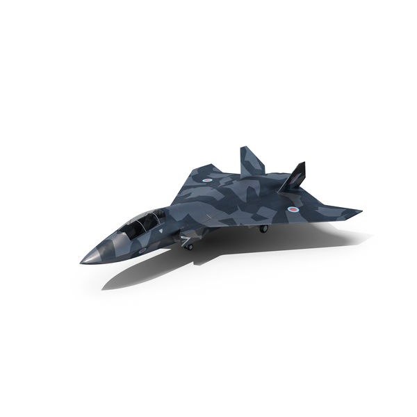 BAE Systems Tempest Future Concept Camouflage Jet Fighter PNG & PSD Images
